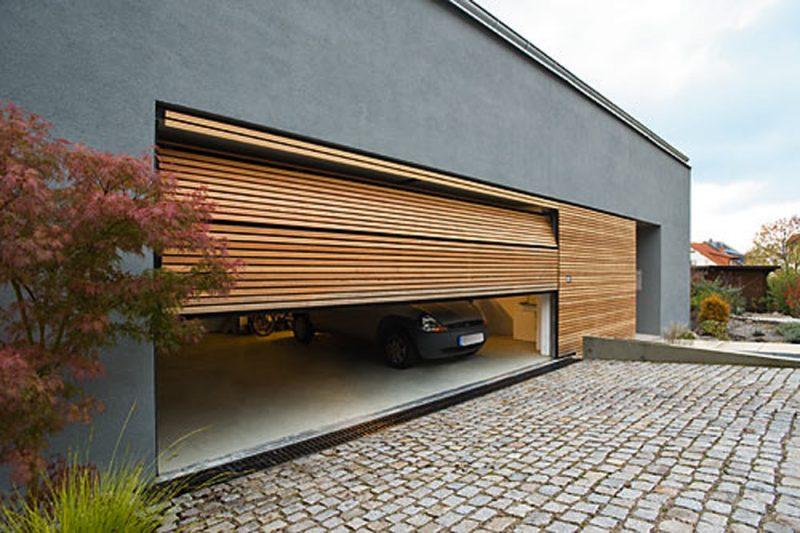 Garagtentor von KRINGS Holz