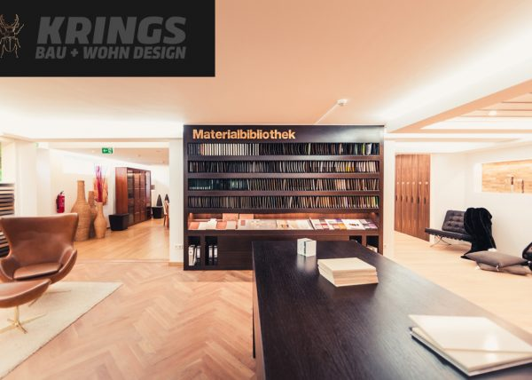 Innenausbau Materialbibliothek