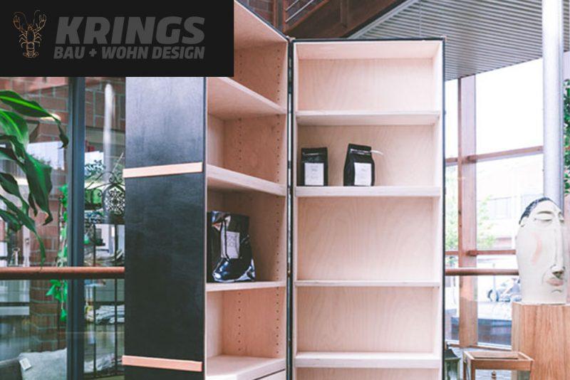Design-Kofferschrank von KRINGS