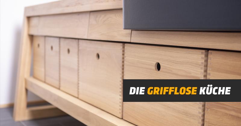 Die grifflose Küche: Designikonen ohne Griff | KRINGS